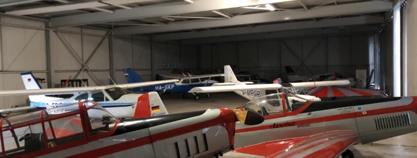 Flugzeughangar